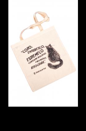 """Ecobag """"Gato"""" - Mimo TAG Curadoria mar/20"""