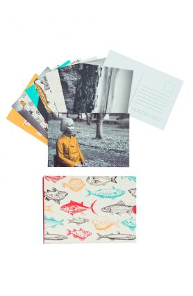 """Conjunto de cartões postais """"Herdeiras do mar"""" - Mimo TAG Inéditos mar/20"""