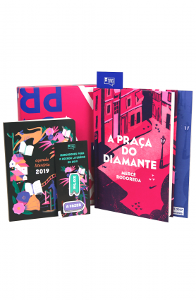 "Kit TAG Curadoria ""A praça do diamante"" (dez/17)"