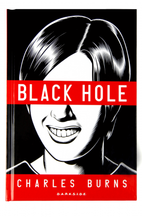"Livro ""Black Hole"", Charles Burns"