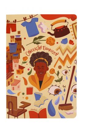 """Caderno """"Autores extraordinários"""" - Conceição Evaristo"""