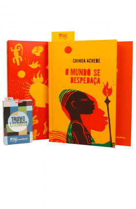 "Kit TAG Curadoria out/19 - ""O mundo se despedaça"", Chinua Achebe"
