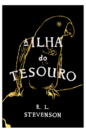 "Livro ""A Ilha do Tesouro"", Robert Louis Stevenson"