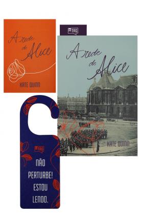 "Kit TAG Inéditos maio/19 - ""A rede de Alice"", Kate Quinn"