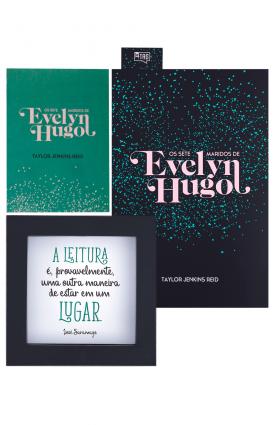 "Kit TAG Inéditos abr/19 - ""Os sete maridos de Evelyn Hugo"", Taylor Jenkins Reid"