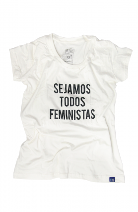 "Camiseta Baby look ""Sejamos todos feministas"""