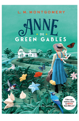 "Livro ""Anne de Green Gables"", L. M. Montgomerry"
