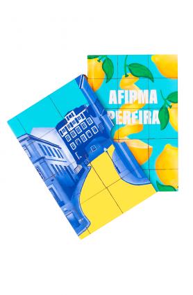 """Kit TAG Curadoria """"Afirma Pereira"""", Antonio Tabucchi (Ago/20)"""