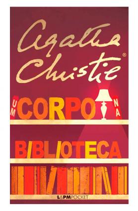 """Livro """"Um corpo na biblioteca"""", Agatha Christie - Edição de bolso"""