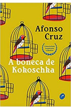 """Livro """"A boneca de Kokoschka"""", Afonso Cruz"""