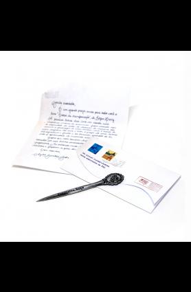 Papeis de carta + abridor - Mimo TAG Curadoria nov/19