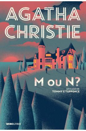 """Livro """"M ou N"""", Agatha Christie"""