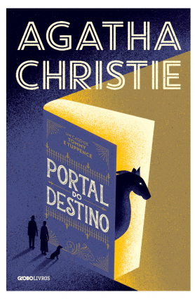 "Livro ""Portal do destino"", Agatha Christie"