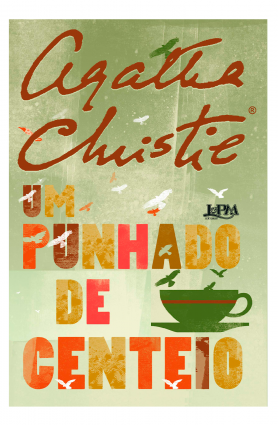 """Livro """"Um punhado de centeio"""", Agatha Christie - Edição de bolso"""