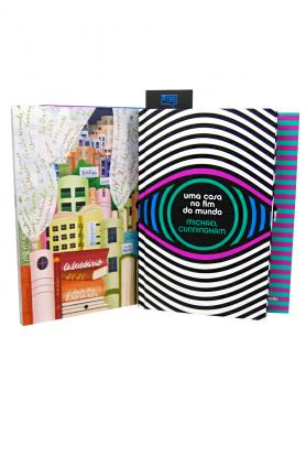 """Kit TAG Curadoria """"Uma casa no fim do mundo"""", Michael Cunningham (dez/19)"""