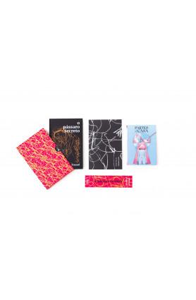 "Kit TAG Curadoria ""O pássaro secreto"", Marília Arnaud (Mai/21)"