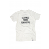 "Camiseta ""Sejamos todos feministas"" tradicional"