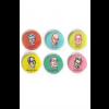 Conjunto de bottons Nobel latino-americanos