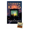 "Livro ""O instituto"", Stephen King + Pin exclusivo ""O iluminado"""