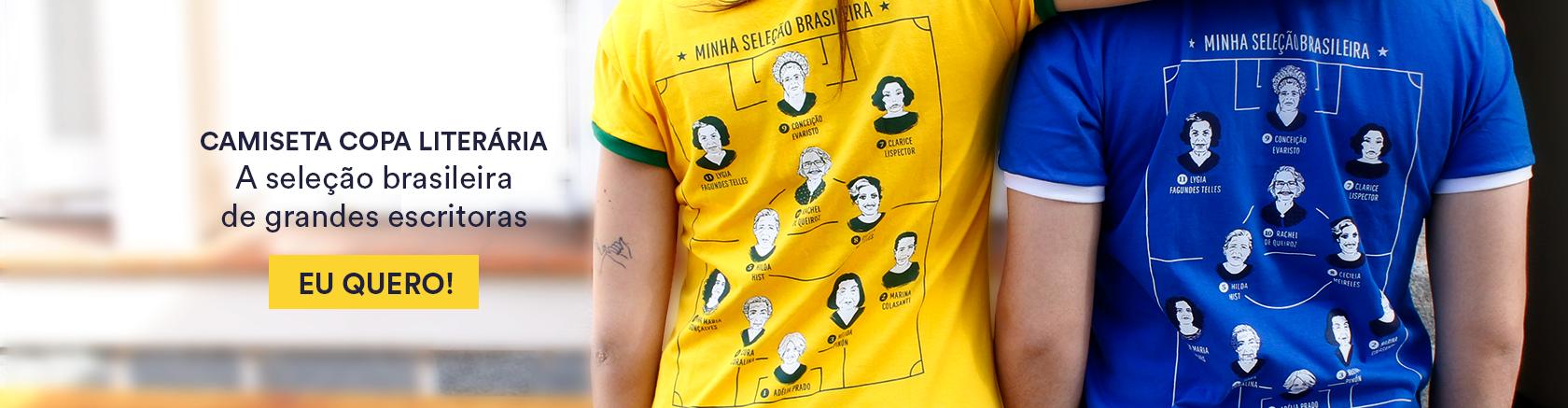 Conheça nossa exclusiva camiseta Copa Literária