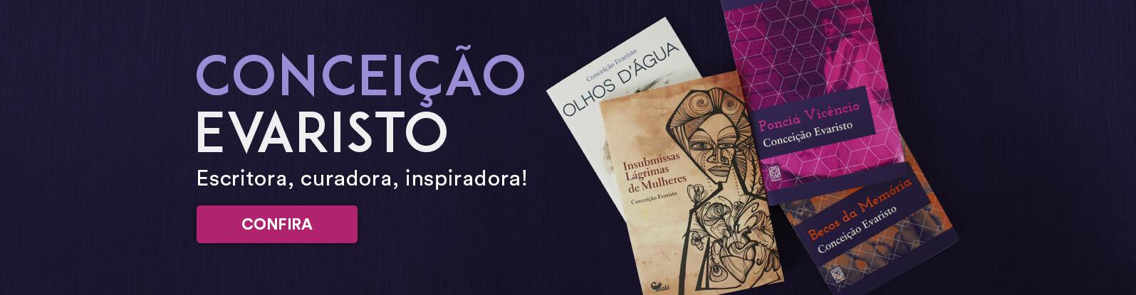 Livros de Conceição Evaristo