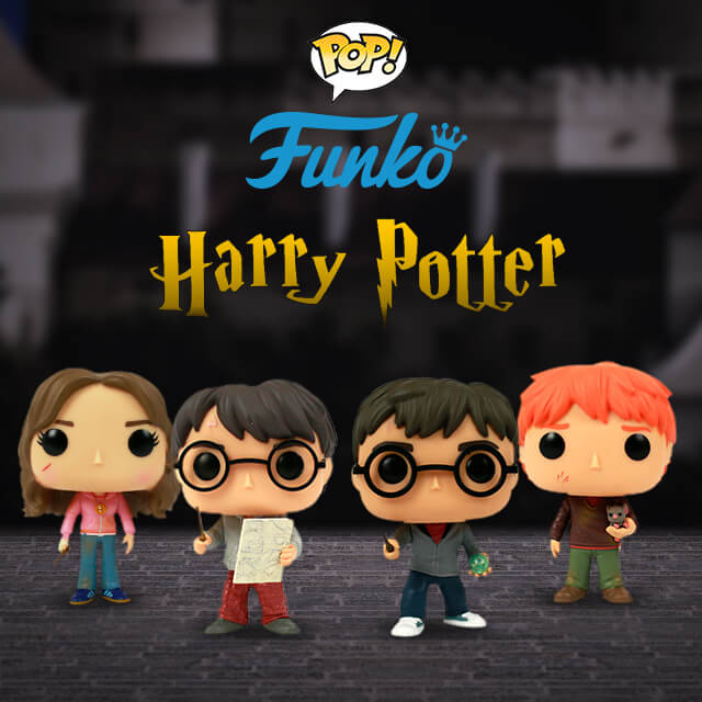 Pop Funkos do Harry Potter