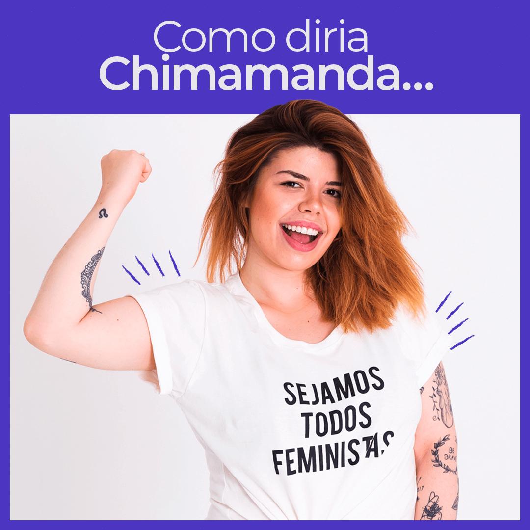 Camiseta Sejamos Todos Feministas