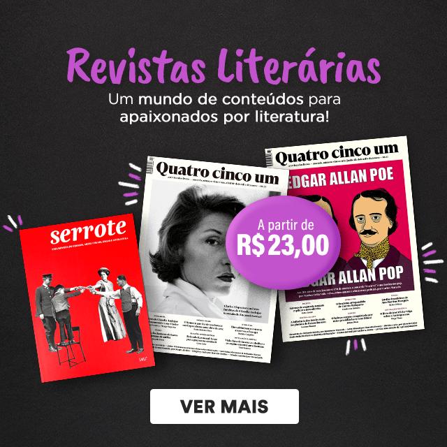 Novidade - Revistas literárias